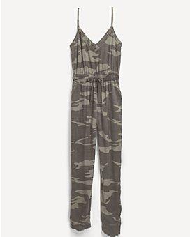 Splendid - Camo Print Jumpsuit