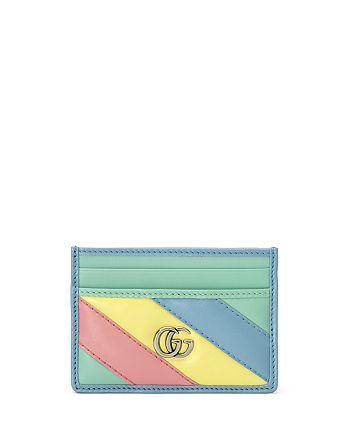 Gucci - GG Marmont Matelassé Leather Card Case