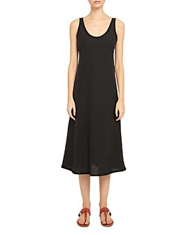 Theory - Spring Linen Midi Dress