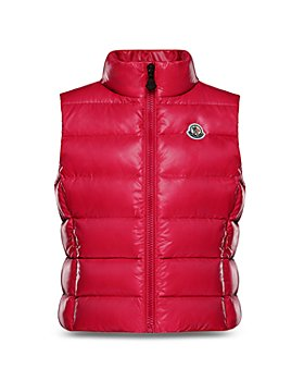 Moncler - Girls' Ghany Down Puffer Vest - Little Kid, Big Kid