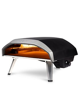 Ooni - Koda 16 Gas Powered Outdoor Pizza Oven Bundle with Cover, Classic Peels and Cookbook