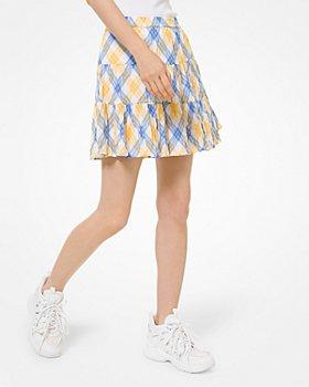 MICHAEL Michael Kors - Plaid Mini Skirt