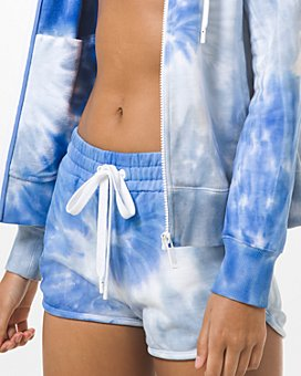 MICHAEL Michael Kors - Tie Dyed Cotton Shorts