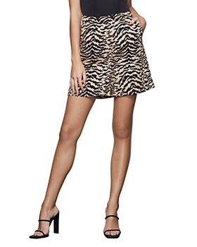 Good American - Zebra Print Shorts