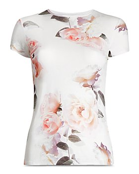 Ted Baker - Floral Fitted Tee