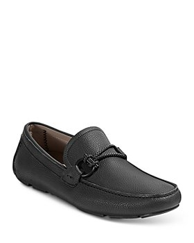 Salvatore Ferragamo - Men's Front 4 Leather Slip On Driver Mocassins