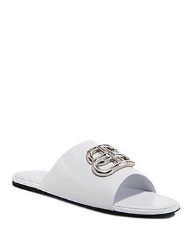 Balenciaga - Women's Oval BB Mule Sandals