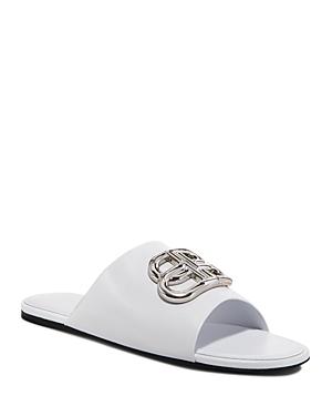 Balenciaga Women's Oval Bb Mule Sandals