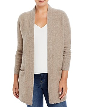 C by Bloomingdale's - Cashmere Open Front Cardigan With Pockets - 100% Exclusive