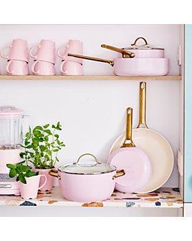 GreenPan - Padova Reserve Blush Healthy Ceramic Nonstick Cookware, Set of 10