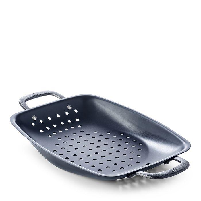 BK Cookware - Black Steel BBQ Roaster with Side Handles