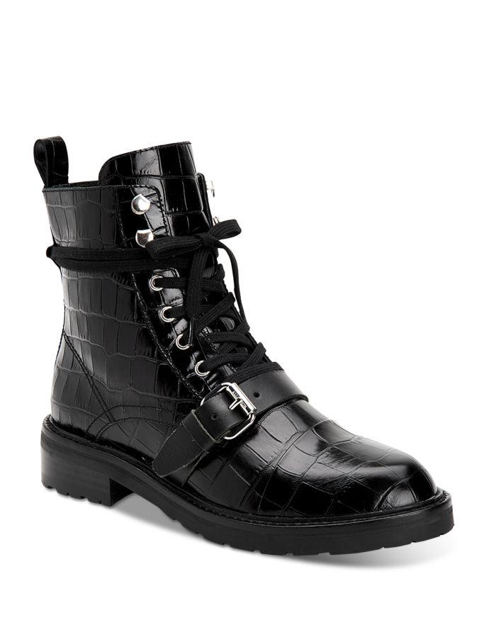 ALLSAINTS Women's Donita Combat Boots    Bloomingdale's
