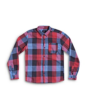 Quiksilver - Boys' Motherfly Flannel Shirt - Big Kid