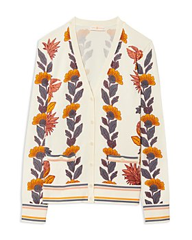 Tory Burch - Printed Madeline Cardigan
