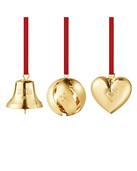 Georg Jensen - Christmas Collection 2019 Ornament 3 Piece Gift Set