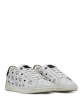 MCM - Women's New Court Low Top Sneakers