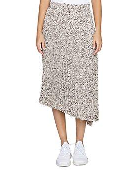 Sanctuary - The Summer Leopard Print Pleated Skirt