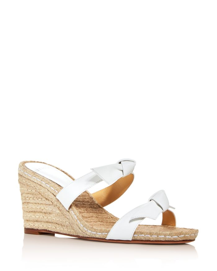 Alexandre Birman Women's Clarita Espadrille Wedge Slide Sandals    Bloomingdale's
