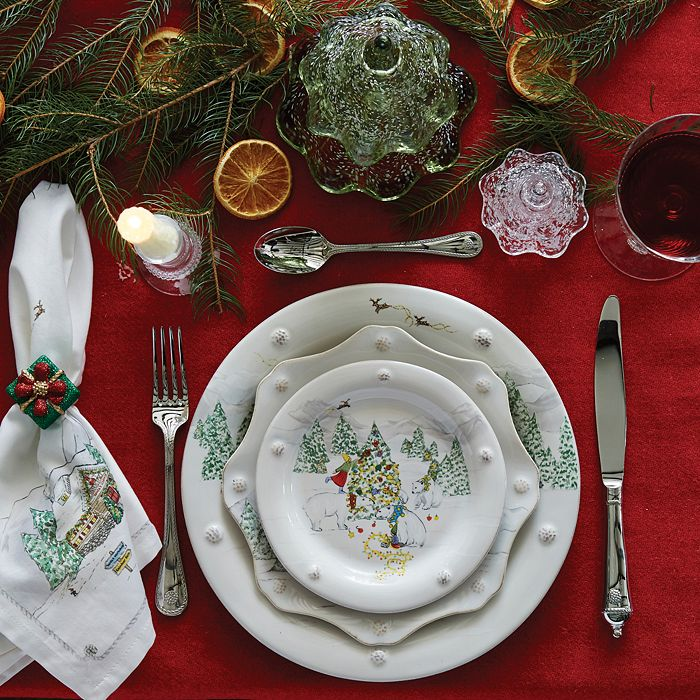 Juliska - Berry & Thread North Pole Dinnerware Collection