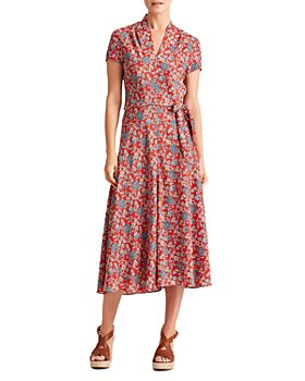 Ralph Lauren - Amit Floral Print Midi Dress