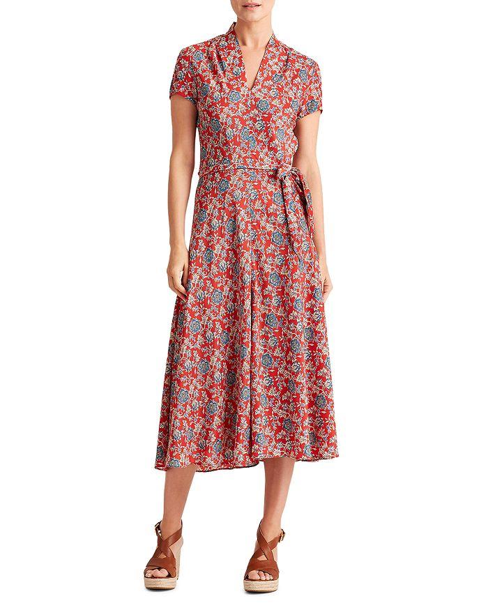 Ralph Lauren - Amit Floral Print Midi Dress