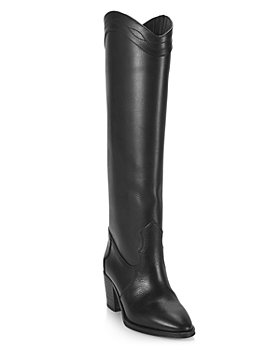 Saint Laurent - Women's Kate Western Block Heel Boots