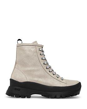 P448 - Women's Denise Platform Sneaker Booties