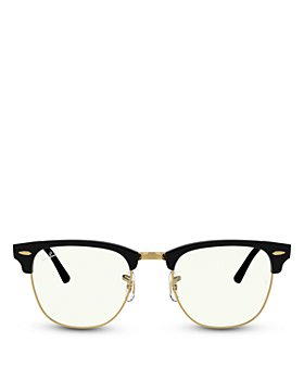 Ray-Ban - Unisex Square Blue Light Glasses