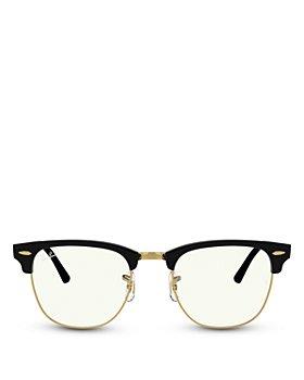 Ray-Ban - Square Blue Light Glasses, 50mm