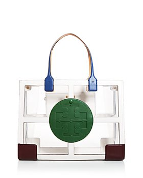 Tory Burch - Ella Clear Quadrant Tote