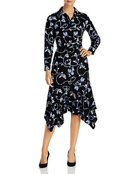 KARL LAGERFELD PARIS - Printed Bandana Hem Maxi Dress