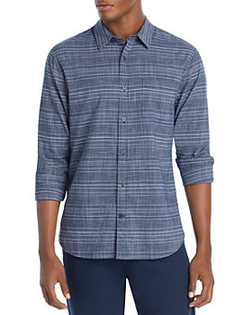 Vince - Graphic Plaid Button Front Shirt