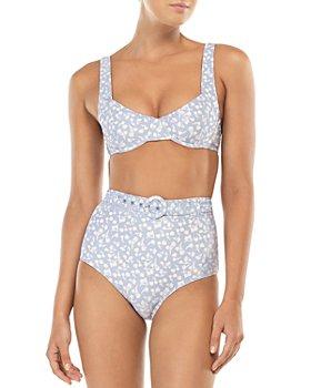 Peony - Balconette Bikini Top & Belted Bikini Bottom