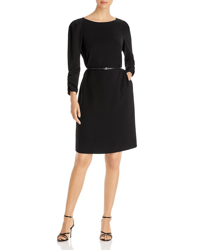 Lafayette 148 New York - Romilly Finesse Crepe Belted Dress