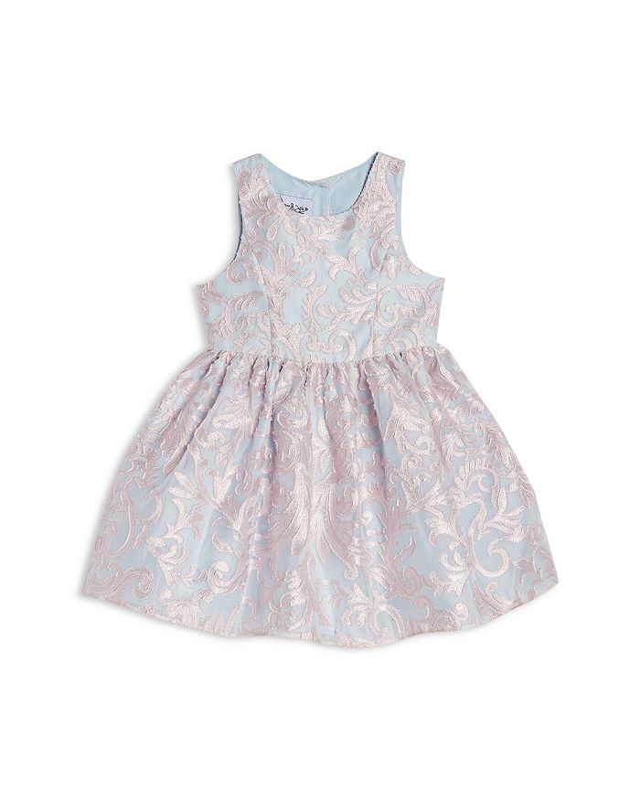 Pippa & Julie - Girls' Burnout Overlay Party Dress - Little Kid
