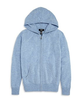 AQUA - Girls' Cashmere Hoodie, Big Kid - 100% Exclusive