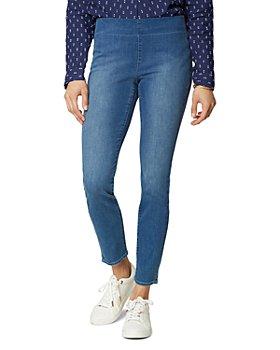 NYDJ - Petites Pull On Skinny Ankle Jeans