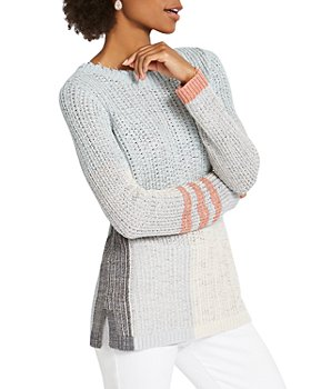 NIC and ZOE - Modern Love Color Blocked Sweater
