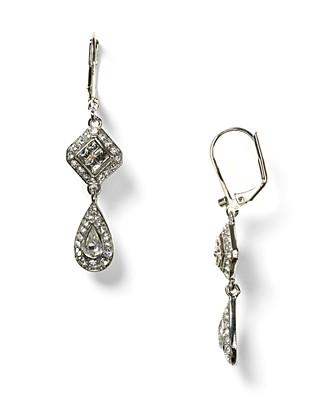 Carolee Lux Crystal Drop Earrings Bloomingdale S