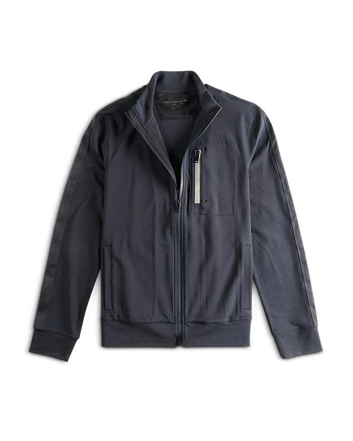 John Varvatos Star USA - Bates Ponte Knit Regular Fit Track Jacket