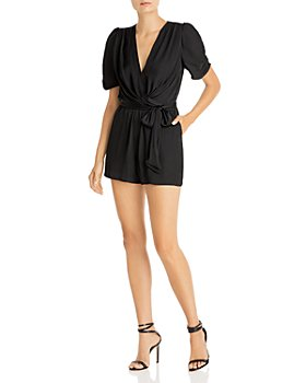 AQUA - Belted Romper - 100% Exclusive