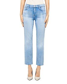 L'AGENCE - Sada Cropped Slim Fit Jeans