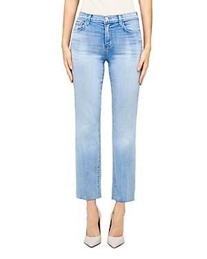 L\\\'Agence Sada Cropped Slim Fit Jeans-Women