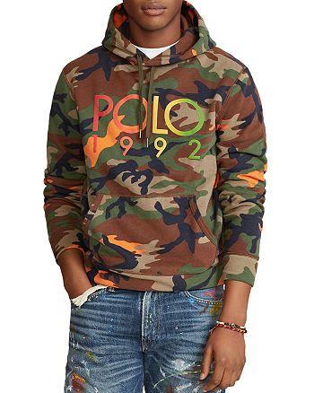 Polo Ralph Lauren - Logo Camo Fleece Hoodie