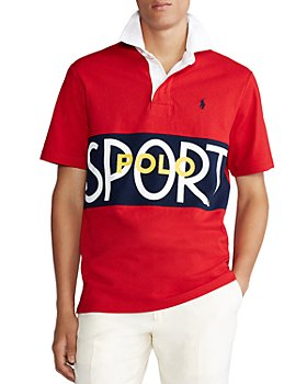 Polo Ralph Lauren - Polo Sport Cotton Color Blocked Classic Fit Rugby Polo Shirt