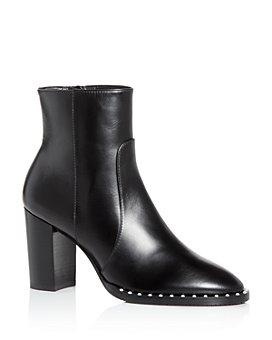 Stuart Weitzman - Women's Kailee Block Heel Booties