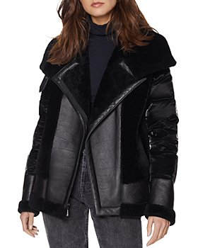 Dawn Levy - Mel Mixed Media Puffer Jacket