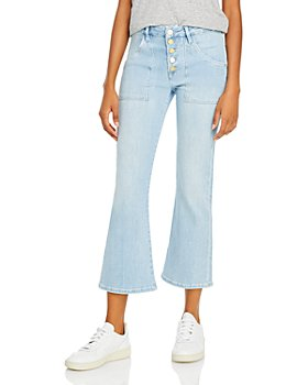 FRAME - Le Crop Mini Boot Jeans in Carnation