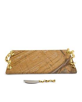 Michael Aram - Vine XL Cheese Board With Knife