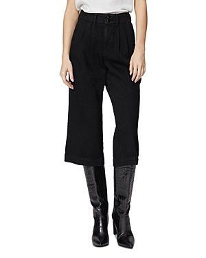 Paige Clarice Pleated Culotte Jeans in Director